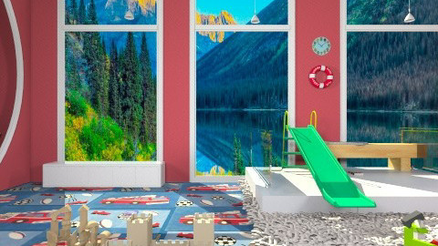Climbing Kids Room - Masculine - Kids room  - by deleted_1513655778_Valencey14