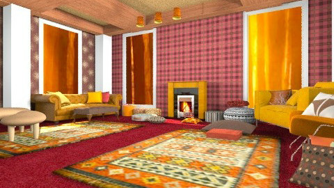 easy room - Classic - Living room - by rokhi