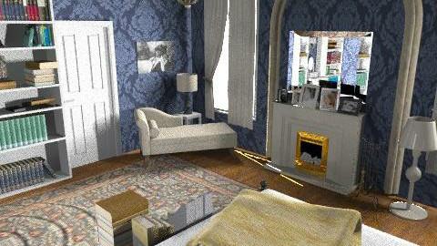 Gossip Girl Blair Room - Vintage - Bedroom  - by Lenii