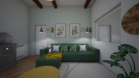 anna - Living room  - by Angela Quintieri
