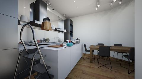 kitchen - Rustic - Kitchen  - by pigsfordays