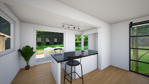 garden view - Kitchen - by Robertaven