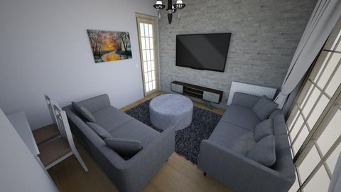 Minimalist salon 7 - Modern - Living room  - by filozof