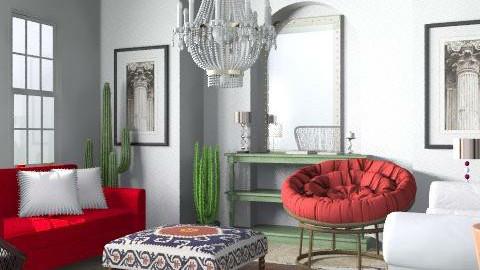 Fajita - Eclectic - Living room  - by hunny