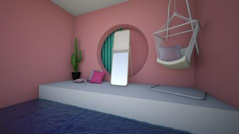 Pink and Futuristic - Modern - by MiDesign