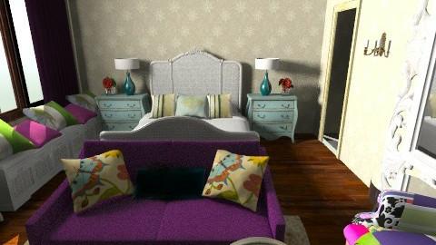 aysha kha134471 - Eclectic - Bedroom  - by mehar