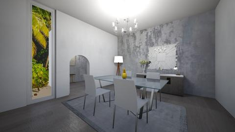 For Tanem Kutlu - Modern - Dining room  - by Arianna_10