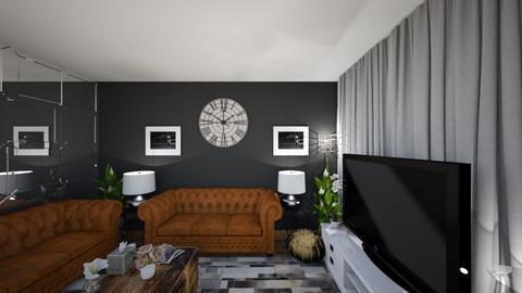 after 5 years LRM 1BB6 - Living room - by zainab alkaram