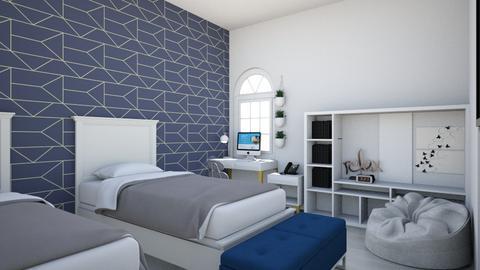 Dorm room - by 25sgriffioen