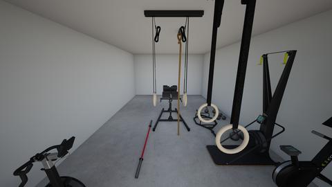 basement gym - by rogue_4a7aea40a51e51d584fc105120a79