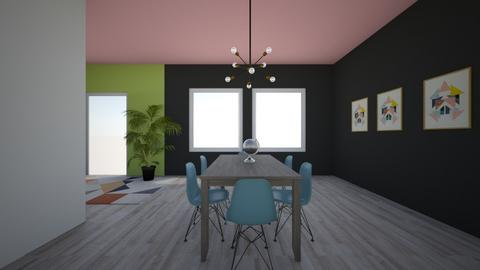 City home - Dining room  - by Livby