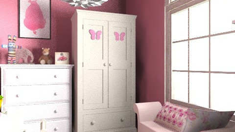 Barbie 2 - Glamour - Kids room  - by Anna Rainbow