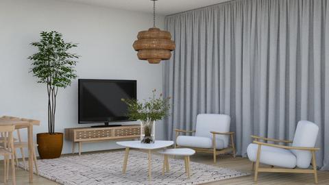 Minimalist - Living room  - by KittyKat28