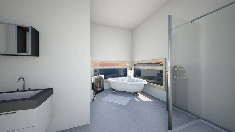 Bathrm5Sunset - Glamour - Bathroom  - by Robacki