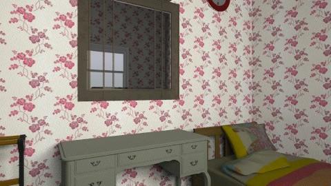 iris - Minimal - Bedroom - by farahfarahida
