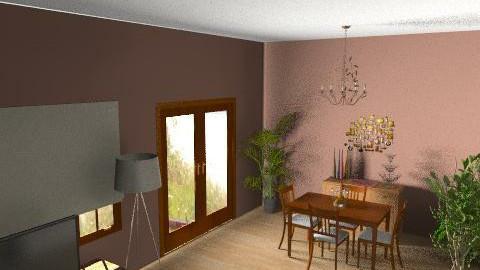 My Lounge - Retro - Living room  - by Jojo63