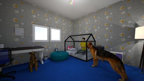 kubus - Kids room  - by Kinga Stepien