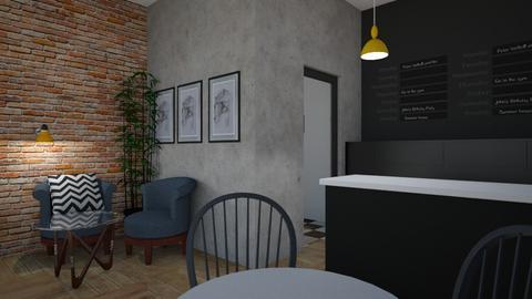 Resturant - Dining room  - by Amelia Tomaszewicz