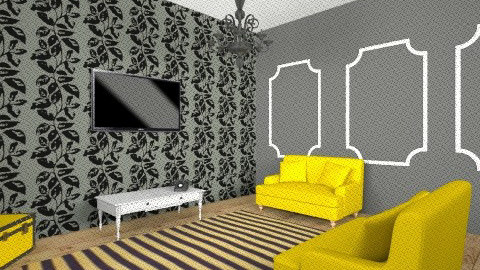 TV room  - Glamour - by bethany81