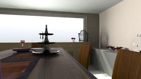 Dinning2 - Modern - Dining room - by Samdeco77
