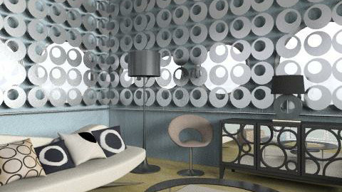circles. - Retro - Living room  - by trees designs
