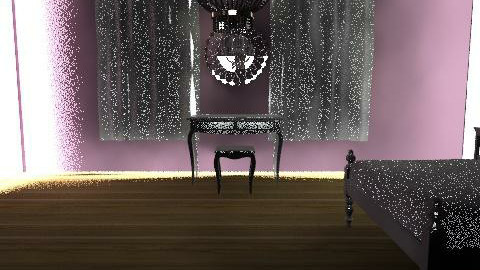 Purple Bedroom - Glamour - Bedroom  - by obiobi