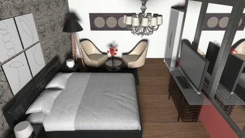 Suite - Glamour - Bedroom  - by nikanarbut