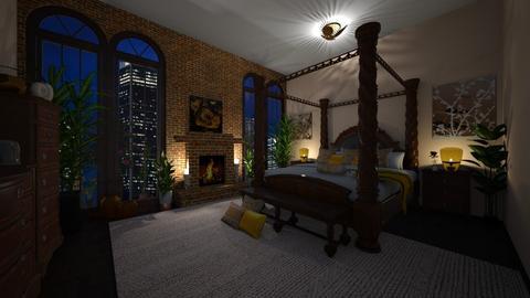 Above the Bed - Vintage - Bedroom  - by Irishrose58