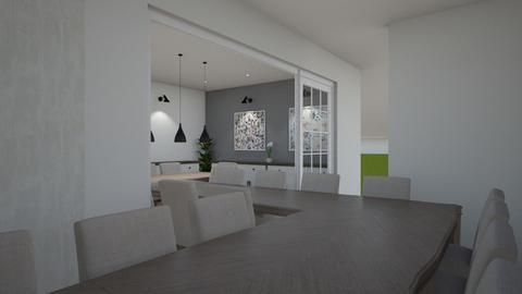 Living Eating Terrace v2 - Living room  - by hunfdracula
