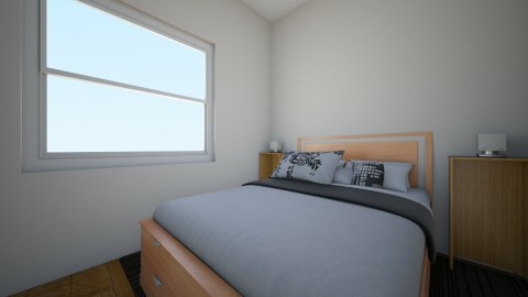 apartment room_guest 1 - Minimal - Bedroom - by Likeifencare