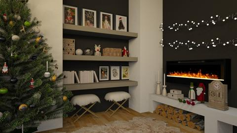 Christmas Wall - Living room  - by MiaM