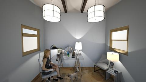 Work Room - Modern - by Monchestrella