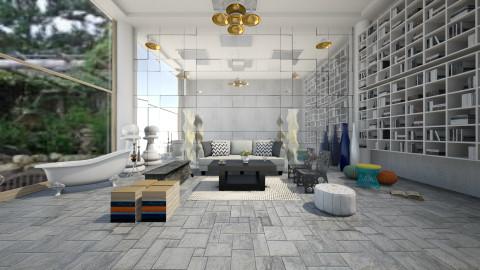design - Living room - by nouran1234
