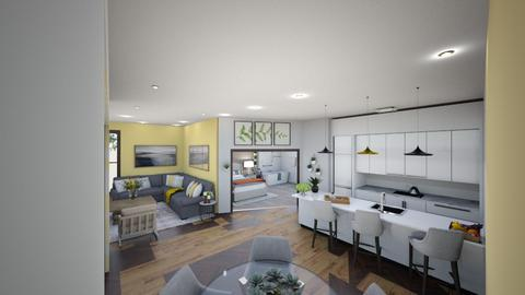 domestic elder care - Kitchen  - by Zoe Bailey