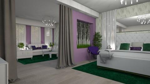 green is new purple - by leona11