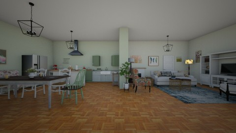 heart of the home - Country - Kitchen  - by Charlotte Aliceee