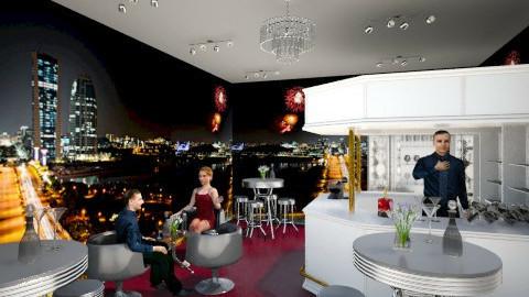 nigth city - Glamour - Dining room  - by KataaRinaa8