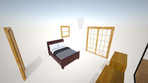 master bedroom - Bedroom - by bradfielder