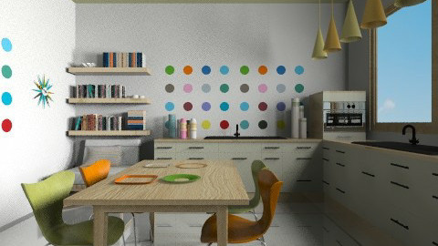 modcitykitchen - Modern - Kitchen  - by Ariadne491