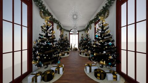 Christmas Corridor - Modern - by Loren17