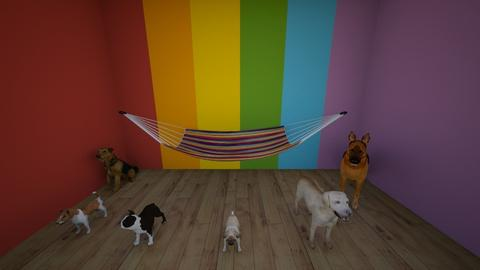 BaconDoghahas room - Glamour - Kids room  - by waffledoghaha