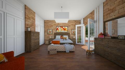 Bedroom 1 - Vintage - Bedroom  - by camilla_saurus