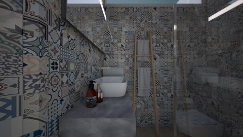 Casa198Bathroom - Minimal - Bathroom  - by nickynunes
