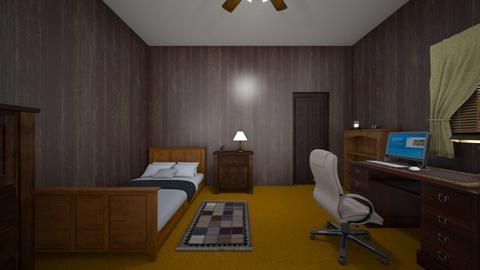Rustic Bedroom - Bedroom  - by WestVirginiaRebel