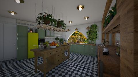Kitchen moroccan - Kitchen - by TusaTimea