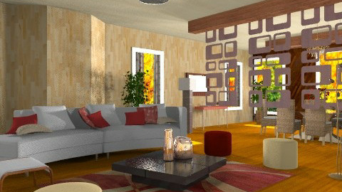 Madeiras mil 2 - Country - Living room  - by decoracao