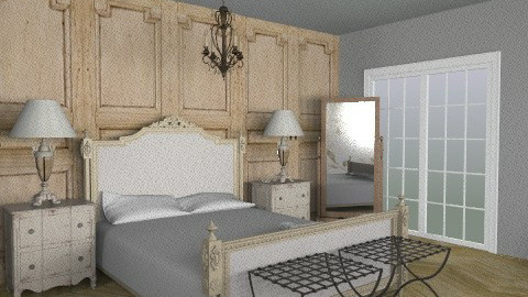 Resto-like - Rustic - Bedroom  - by sausalitogirl