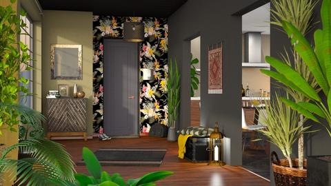 Urban Jungle Hallway - Modern - by Mandine