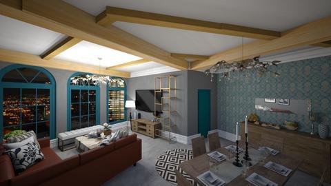 oda - Living room  - by cemre61