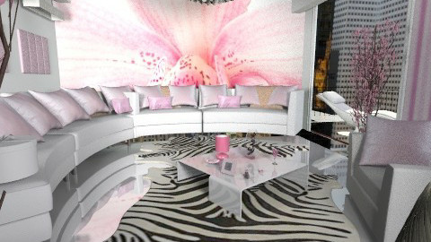 000222 pink - Glamour - Living room  - by bisertanya